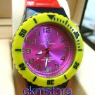 colorful UNISEX WATCH - Yellow