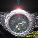Ladies' Fantastic shiny stone watch- black st11