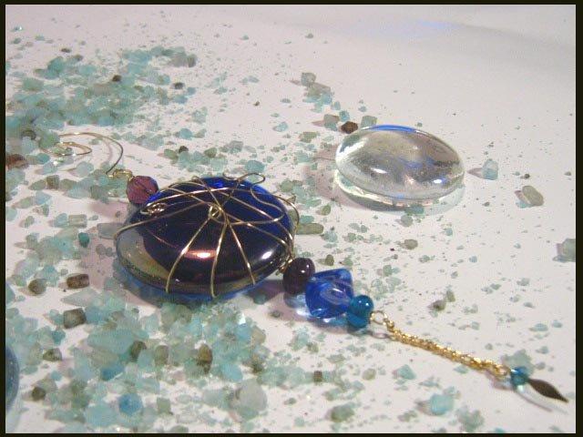 Blue & Purple Charmed Treasures