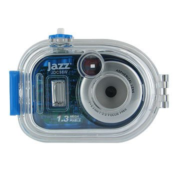 JAZZ 1.3MP WATERPROOF 3 IN 1 UNDERWATER DIGITAL CAMERA