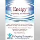 Essential Oil Blend Energy Wellspring Prosperity