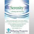 Serenity Wellspring Prosperity Essential Oil Blend