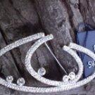 Tachyon Swarovski Crystal Brooch Pin Pendant Wellspring