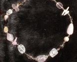 Tachyon Crystal Quartz, Opal & Pearl Sterling Heart Chakra Necklace