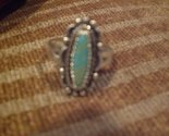 Tachyon Sterling Silver Turquoise Wellspring Ring