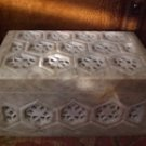Tachyon Genuine Hand Carved Soapstone Jewelry Trinket Box