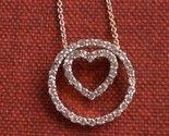 Tachyon Everlasting Love Crystal Heart Necklace