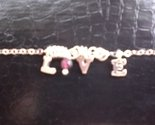 Sterling Silver Inspirational Love Charm Tachyon Bead Necklace