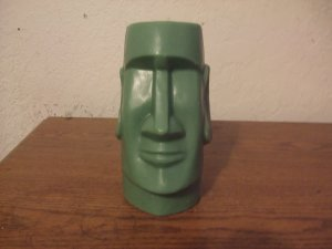 Easter Island Head candle