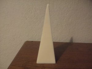 Tapered Pyramid candle