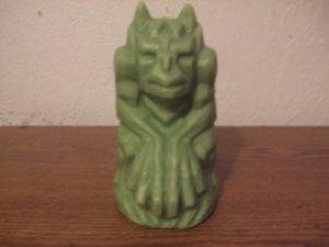 Gargoyle candle