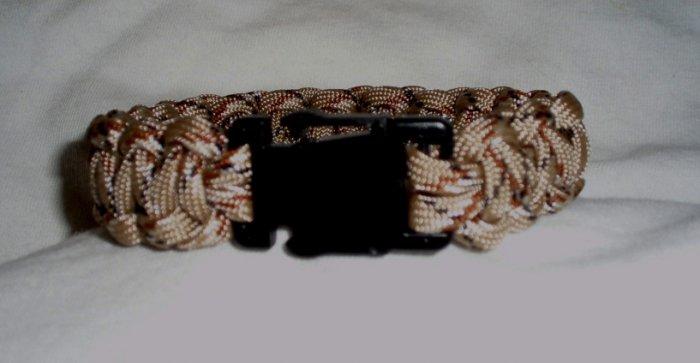Single Color Paracord Bracelet