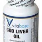 Cod Liver Oil  100 Softgel Capsules - SV852