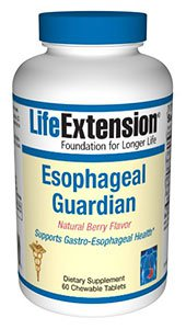 Esophageal Guardian Natural Berry Flavor 60 chewable tablets