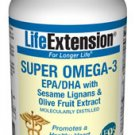 Super Omega-3 EPA/DHA with Sesame Lignans & Olive Fruit Extract - 120 softgels