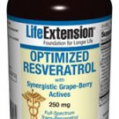 Optimized Resveratrol w/Grape-Berry Actives - 250 mg 60 vegetarian capsules