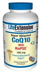 Super Ubiquinol CoQ10 with BioPQQ - 100 mg 30 softgels