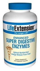 Enhanced Super Digestive Enzymes - 60 vegetarian capsules