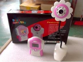 Baby Monitor 1.5 Inch LCD Handheld Color Video Sound