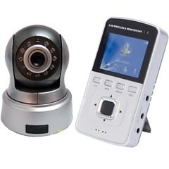 2.5inch  Baby monitor supports 8G SD card