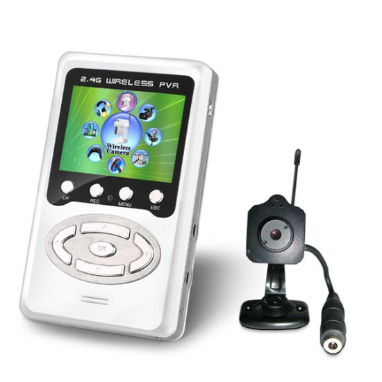 2.5 Inch Baby Monitor With DVR