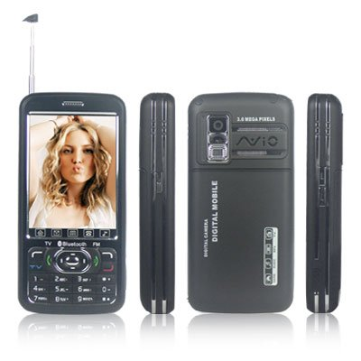 3.0 inch TV Mobile Phone - Dual SIM Cards Stand-by