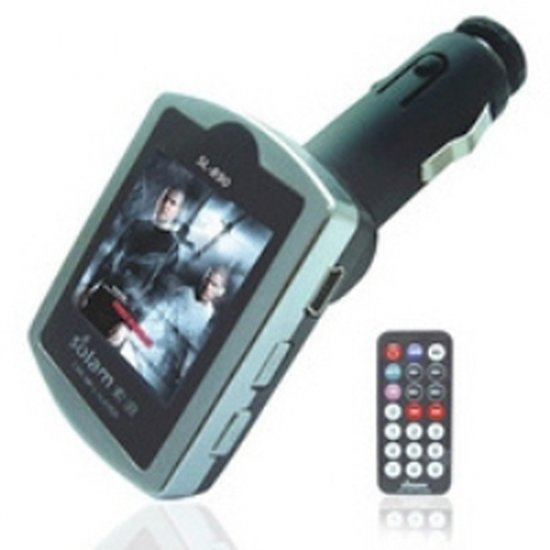 Car MP3 Player and SD Card Slot with FM Transmitter