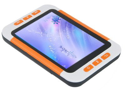 16GB 3.5 Inch MP5 Player with FM- Orange / White