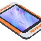 16GB 3.5 Inch MP5 Player with FM- Orange / White