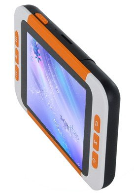 2GB 3.5 Inch MP5 Player with Card Slot - Orange / White free shipping