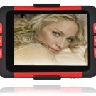 2GB 3.5 Inch MP5 Player with Card Slot - Red/Black