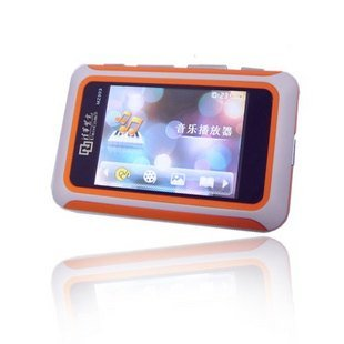 8GB 3.0 Inch MP4 MP5 Player - Orange / Black