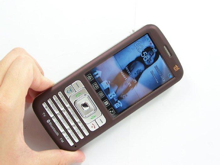 Dual SIM Dual Standby Quad band TV Mobile Phone