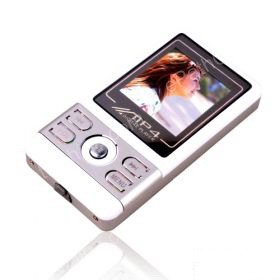 4GB 1.5 Inch MP4 Players With FM Function - Silver