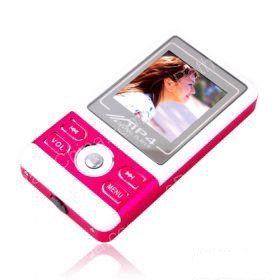4GB 1.5 Inch MP4 Players With FM Function - Red