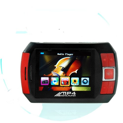 4GB Portable Media Player - PMP with Video, Music, Camera, Games