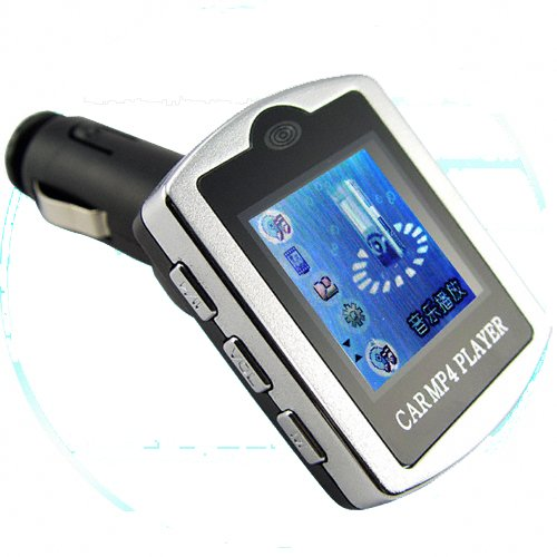 Plug-In Car MP4 Player with LCD Display + 4GB Memory