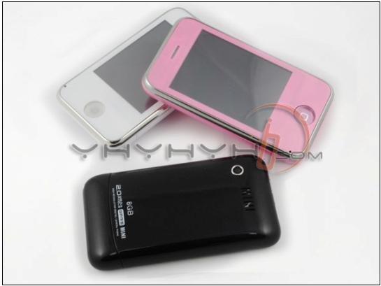 KA08 Unlocked Mini PDA Cell Phone+2GB TF Card