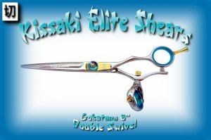 Gokatana 6 inch Double Swivel Professional Hair Stylists Shears / Scissors / Salon