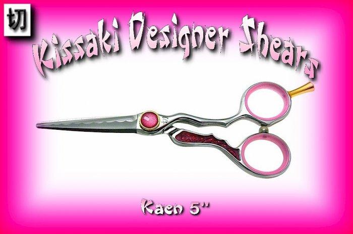 Kissaki Professional Hair Designer 5 inch Kaen Shears / Scissors / Salon