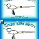 Kissaki Pro Hair Left Handed 6 in. Gokatana L & 5.5 in. Kanagawa L 30t Double Swivel Shears Combo