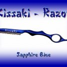 Kissaki Sapphire Blue Professional Hair Feathering Razor