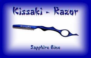Kissaki Sapphire Blue Professional Hair Feathering Razor
