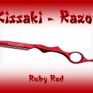 Kissaki Ruby Red Professional Hair Feathering Razor
