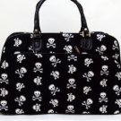 Travel Bag Skulls and Crossbones Print