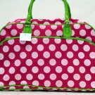 Pink Polka Dot Travel Bag