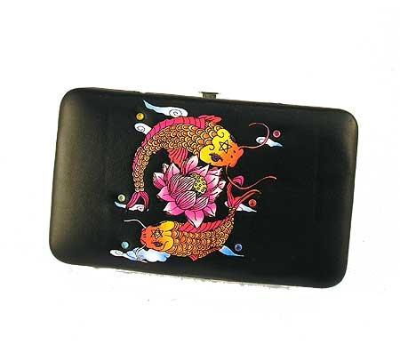 Black Fish Frame Wallet