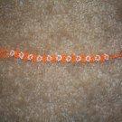 Daisy Bracelet - Orange