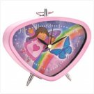 Pink Angel Clock