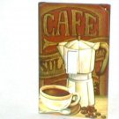 COFFFEE~ESPRESSO DESIGN~DECORATIVE LIGHT SWITCHPLATE